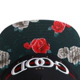 THE GOOD LIFE Flower Brim Snap Back Cap Hat