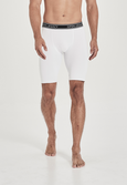 The Hayden Compression - white compression shorts