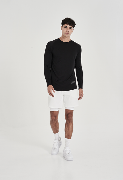 Men's Black Athleisure Shirts Made in Los Angeles, CA
