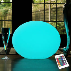 Decorative LED Outdoor Table Lamp, Cordless, Multicolor, 27cm