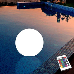 Floating Pool Light, Waterproof Outdoor LED Garden Ball Lamp, 15cm