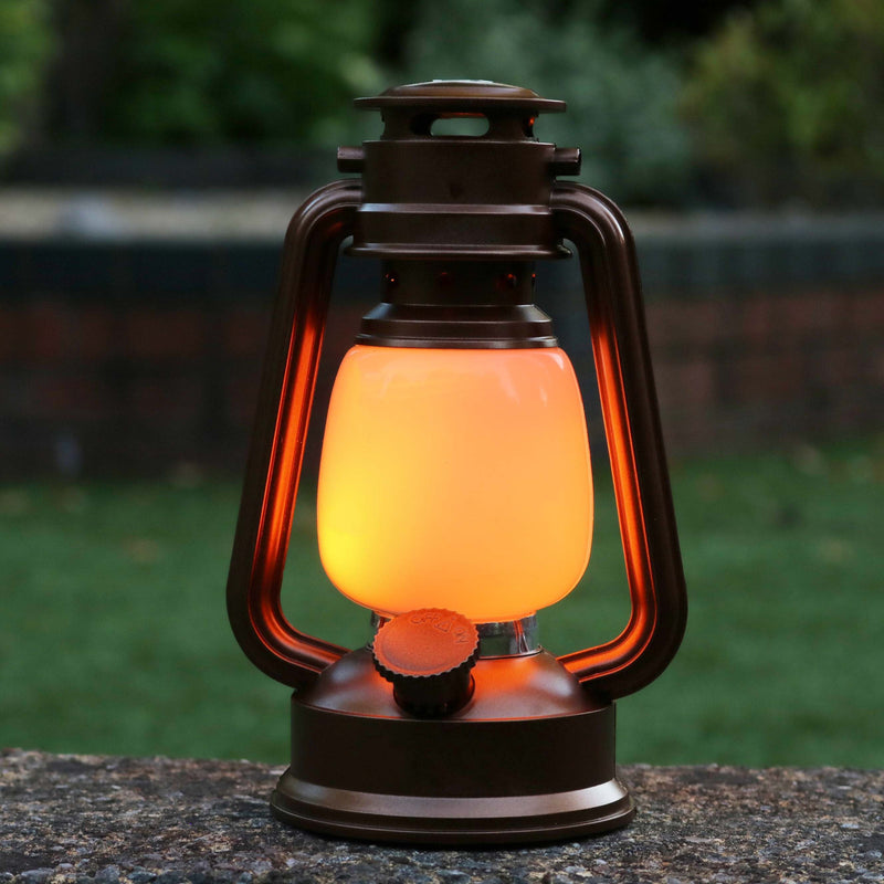 Battery Powered Led Lantern Flame Fire Effect Decorative