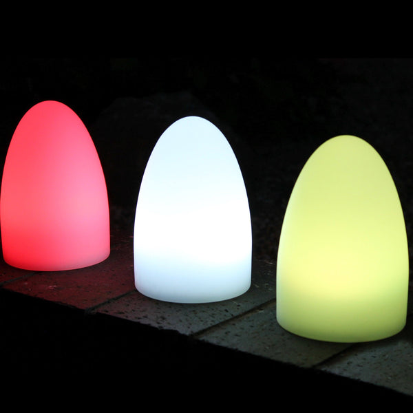 Cordless LED Bedside Lamp, Children's Night Light with Remote, 15cm