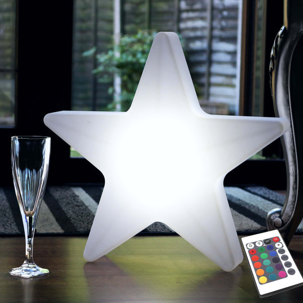 40cm Star Light, Cordless LED Floor Lamp for Kids, Christmas, Outdoor