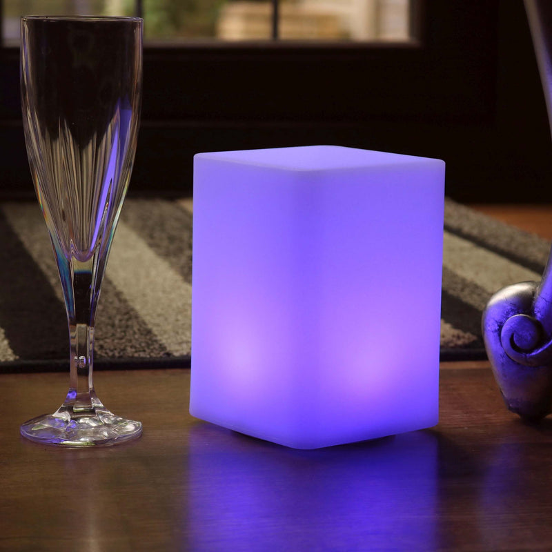 Wireless Bedside Lamp, Night Light with Remote, Multicolor, 15cm