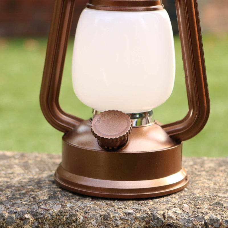 Battery Powered LED Lantern, Flame Fire Effect, Decorative Indoor Lamp