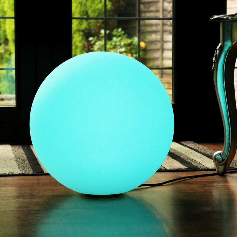 Floor Lamp Ball, 40cm, Mains Powered, Multicolor Free Standing Light
