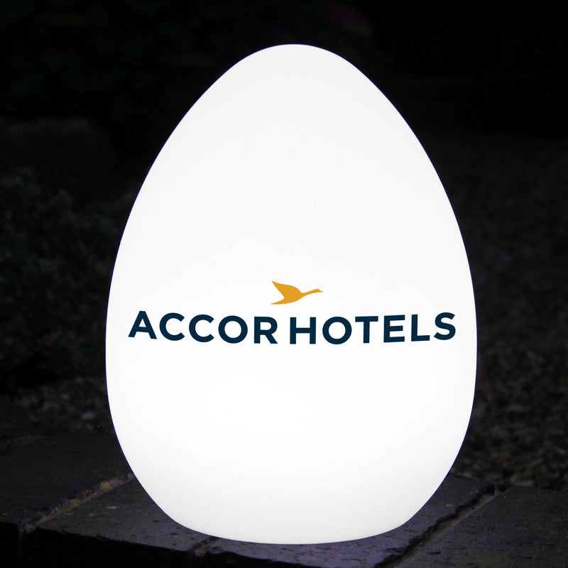 Bespoke Customised LED Table Centre Lamp, Multi Colour Illuminated Sign Light Box Display