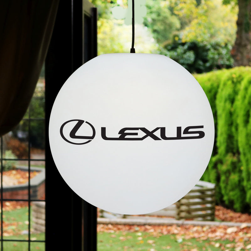 Custom Branded LED Ceiling Circular Light Box, Hanging Display Sign, E27 Suspension Lamp