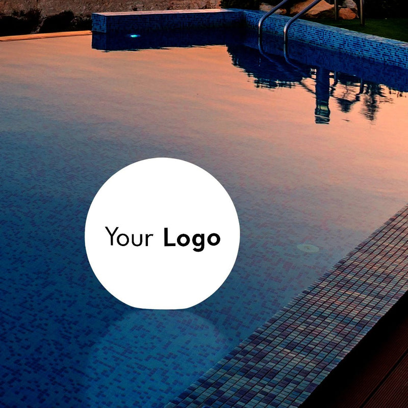Customised Floating Light Box, Personalised Promotional Outdoor LED Pool Pond Lamp