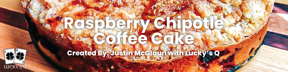 Raspberry Chipotle Coffee Cake