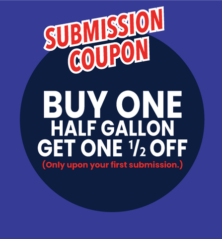 Submission Coupon for 20% Off Your Order (Only upon your first submission each month.)
