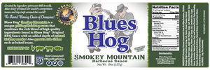 Smokey Mountain BBQ Sauce 19 oz. - Blues Hog