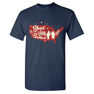 Blues Hog Nation T-shirt - Blues Hog