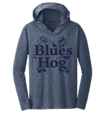 Blues Hog Dual Blue T-shirt Hoodie