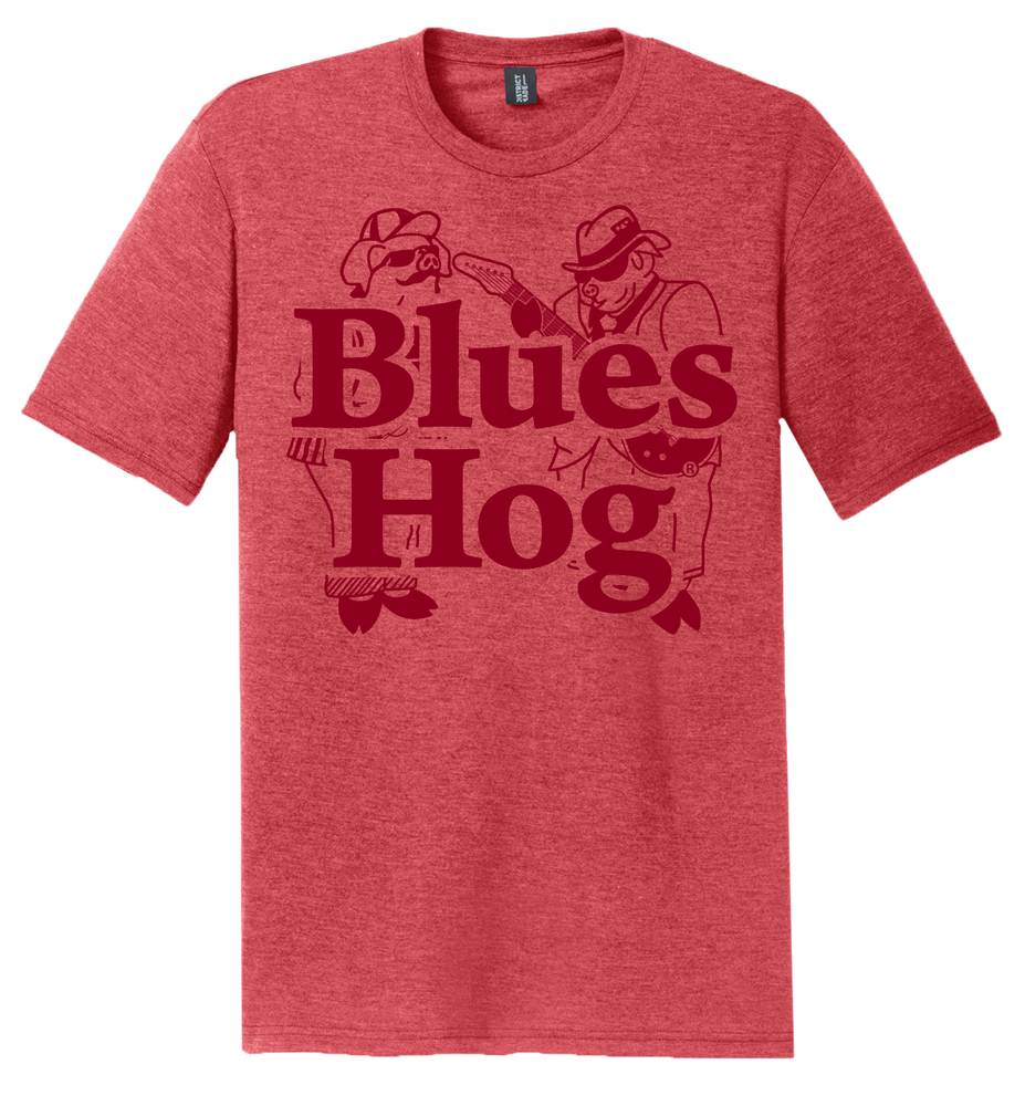 Blues Hog Dual Red Short Sleeve
