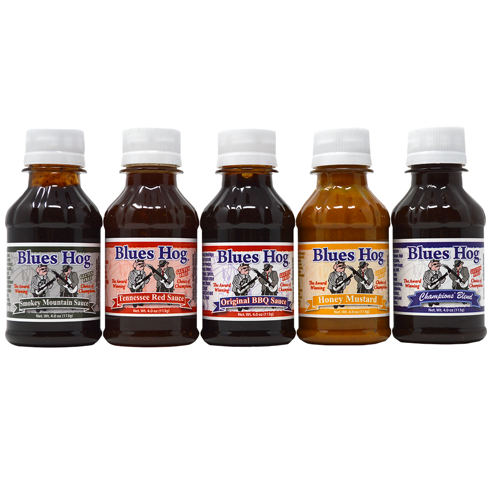 Blues Hog Sample Gift Pack (4 oz.)