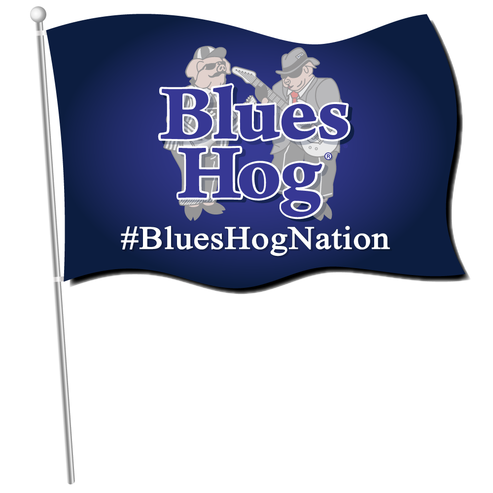 2.5ftx4ft Flag - Blues Hog