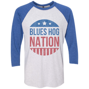 Blues Hog Nation Raglan - Blues Hog - Blues Hog