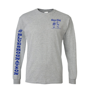 Choice of Champions L/S T-Shirt - Blues Hog