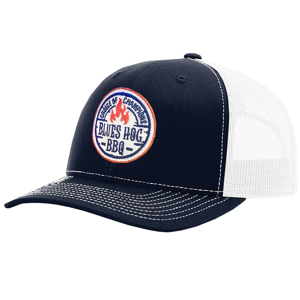 Choice of Champion Hat Navy/White - Blues Hog