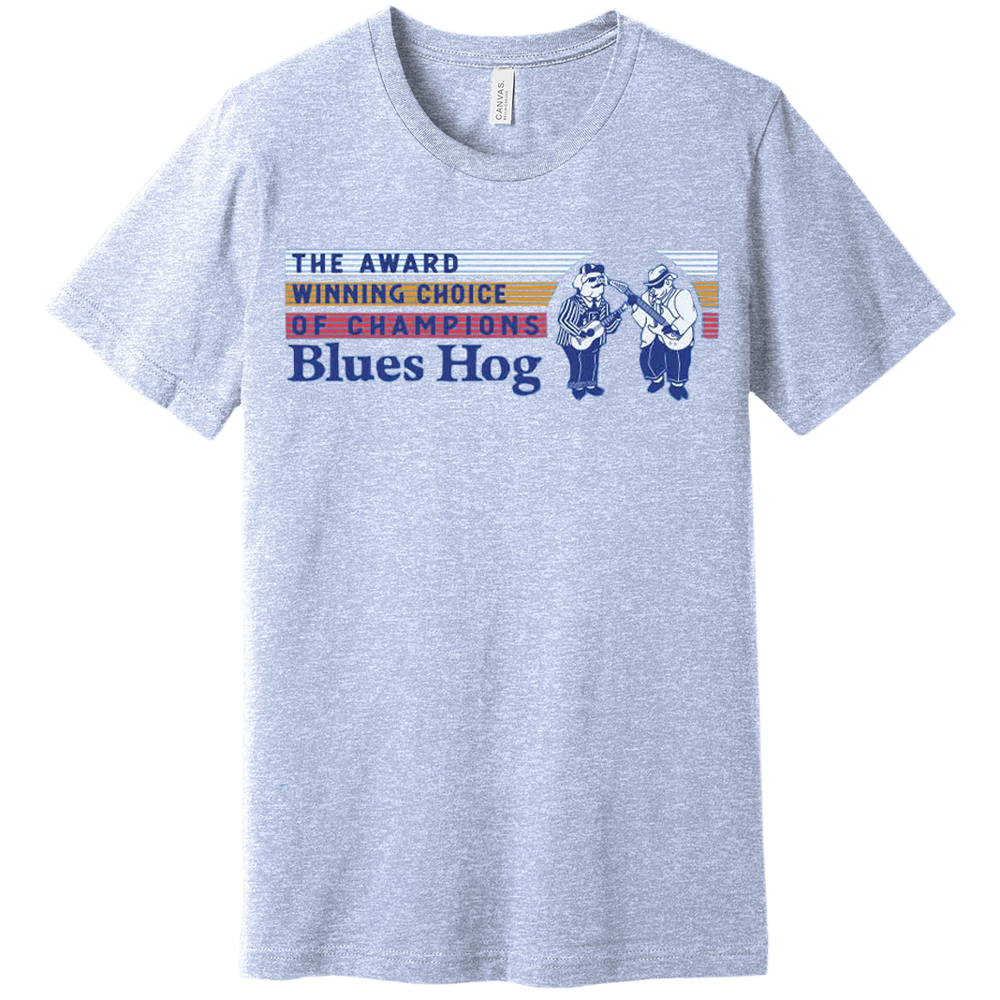 Choice of Champs T-shirt - Blues Hog