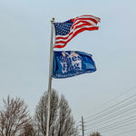 2.5ftx4ft Flag - Blues Hog - Blues Hog
