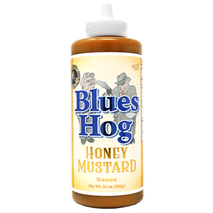 Honey Mustard Sauce Squeeze Bottle 21 oz. - Blues Hog