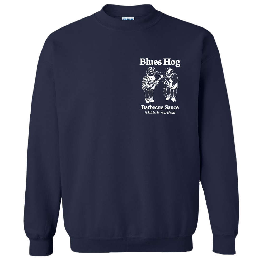 Navy Crew Neck Blues Hog - Sweatshirt