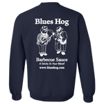 Navy Crew Neck Blues Hog - Sweatshirt - Blues Hog