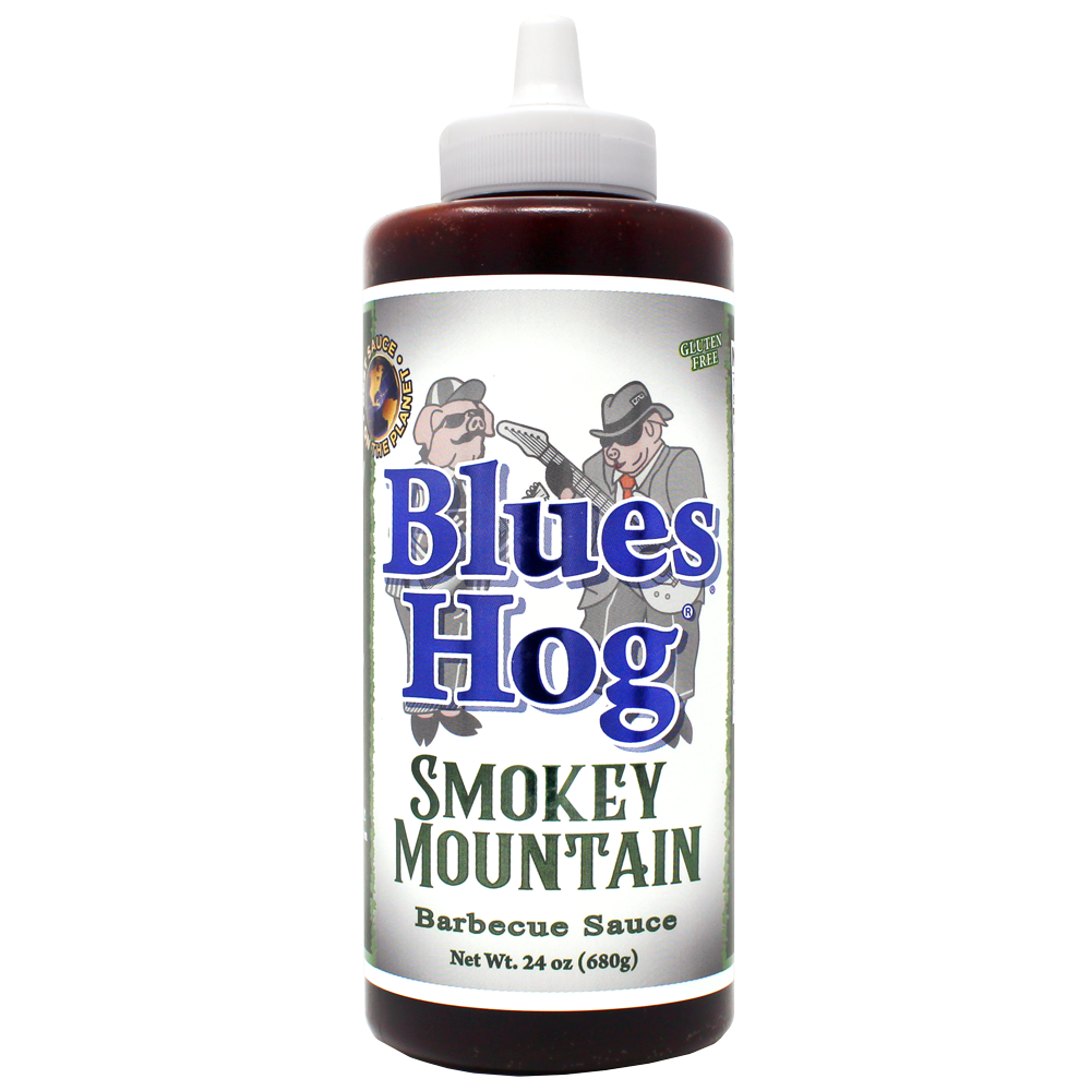 Smokey Mountain BBQ Sauce Squeeze Bottle 24 oz.