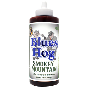 Smokey Mountain BBQ Sauce Squeeze Bottle 24 oz. - Blues Hog