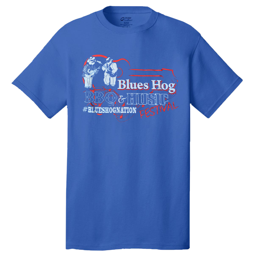 Blues Hog Festival - T-shirt - Blues Hog