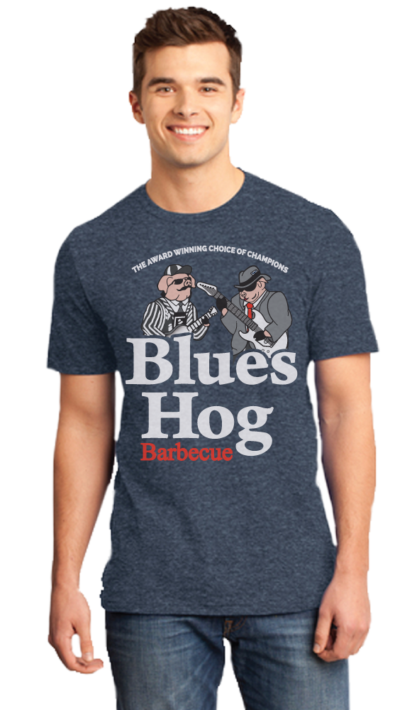Blues Hog Logo - Soft Style - Blues Hog