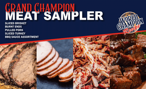 Grand Champion Meat Sampler - Blues Hog