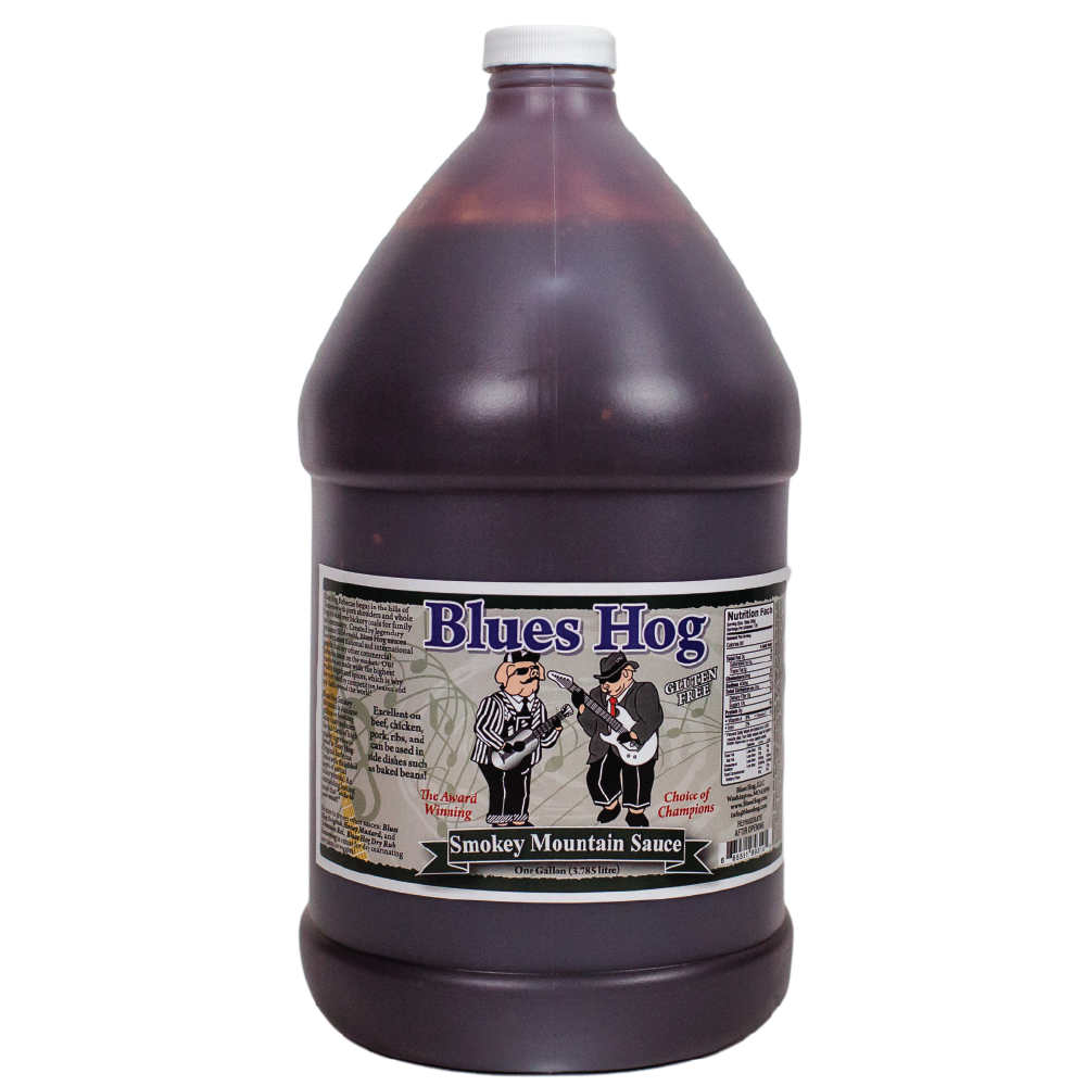 Smokey Mountain BBQ Sauce 128 oz. - Blues Hog