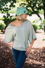 Load image into Gallery viewer, Playful Heart Brushed Hoodie  - The Peach Mimosa