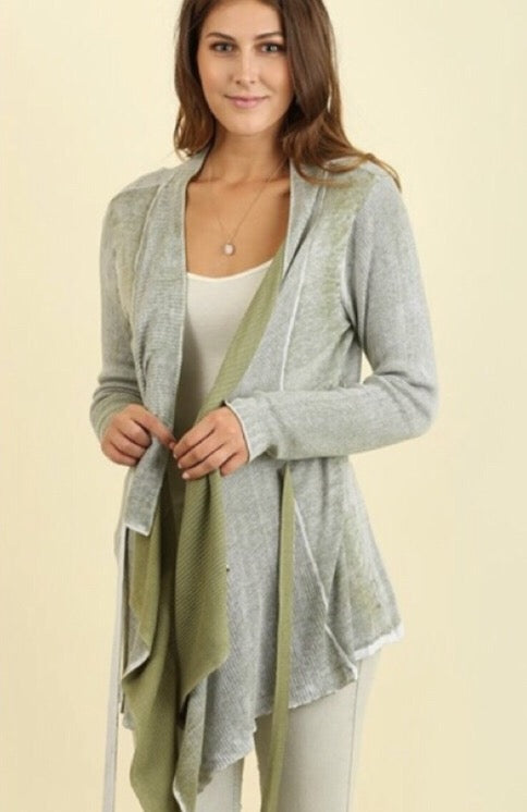 Spring Stroll Cardigan  - The Peach Mimosa