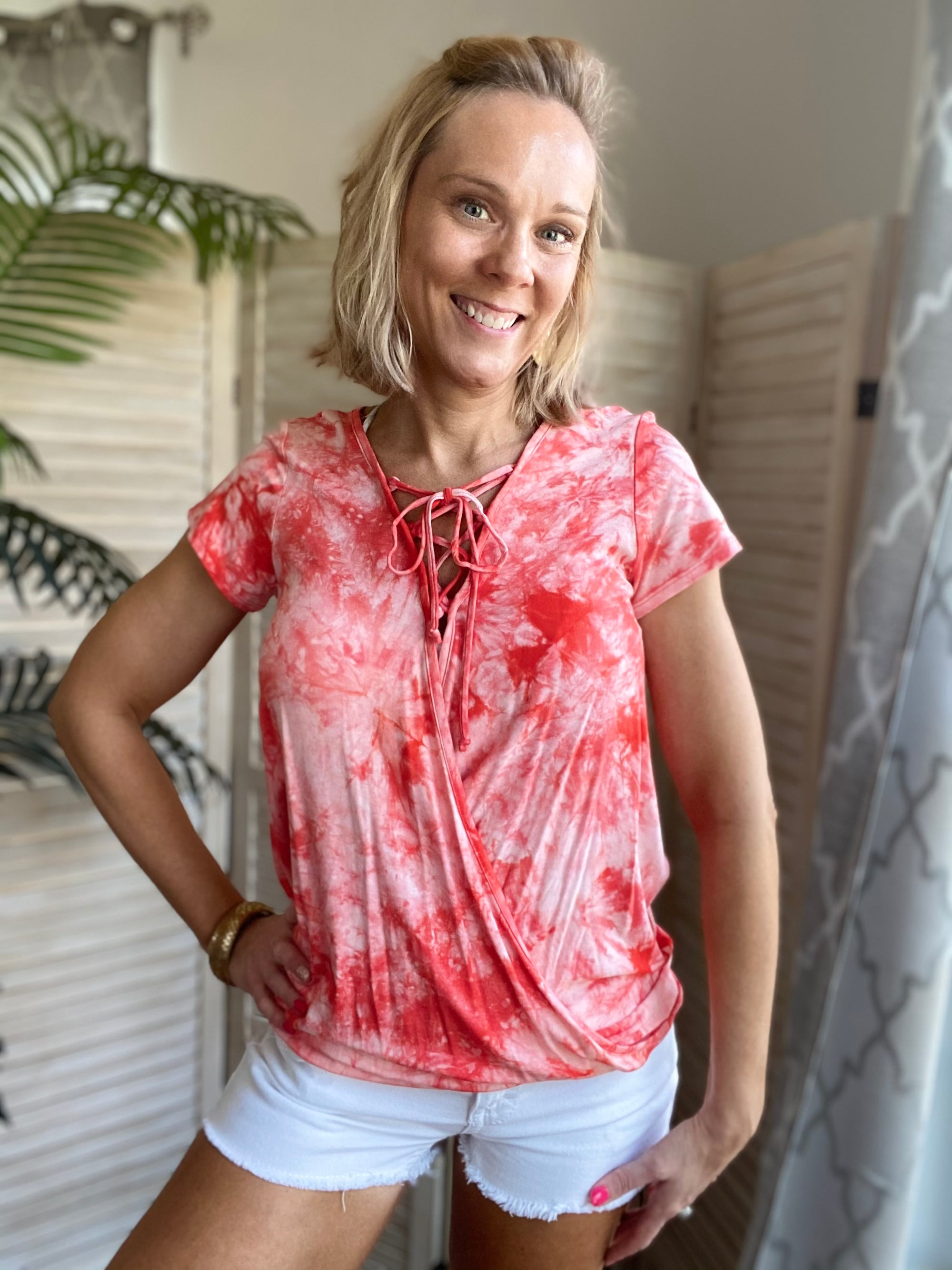 Sunset Wanderer Tie Dye Top