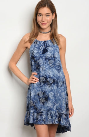 Paisley Love Dress  - The Peach Mimosa