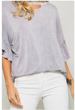 Load image into Gallery viewer, Gisele Mineral Wash Top  - The Peach Mimosa