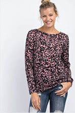 Load image into Gallery viewer, Allie Leopard Top  - The Peach Mimosa