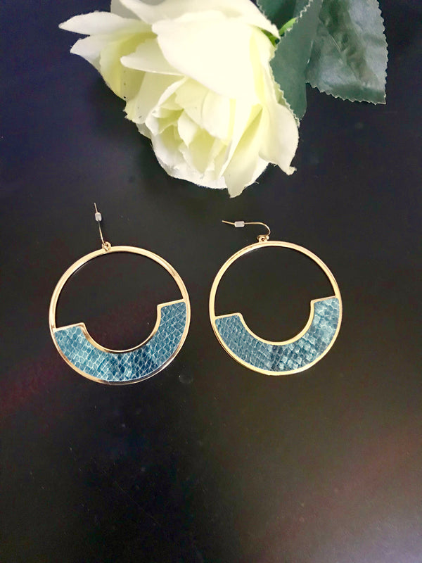 Urban Jungle earrings  - The Peach Mimosa