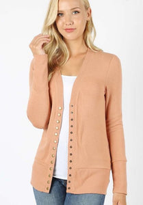 My New Love Snap Front Cardigan