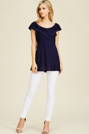 Regatta Top  - The Peach Mimosa