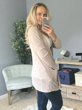 Load image into Gallery viewer, Lounge With Me Cardigan  - The Peach Mimosa