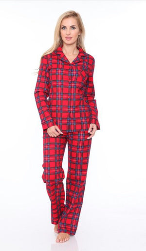 Holly Jolly PJ set