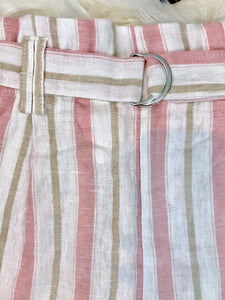 Pretty in Pink Pool Shorts  - The Peach Mimosa