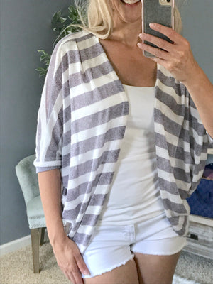 Beach Lounging Cardigan  - The Peach Mimosa