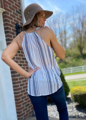 Make An Impression Wrap Tank